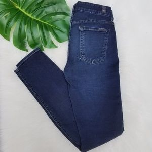 7 for all mankind the skinny size 26